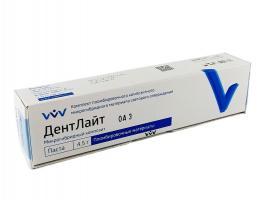 ДентЛайт Dentlight микрогибридный композит, DА3, шпр.4,5г