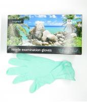 Перчатки Fiomex, Нитрил S, мятные, 100шт.