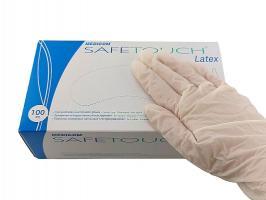 Перчатки MedicomSafeTouch Латекс без пудры XS