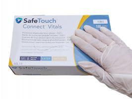 Перчатки MedicomSafeTouch Латекс припудренные M