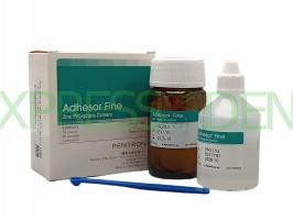 Адгезор Файн Adhesor Fine, цинк-фосфатный цемент, 80г+55г