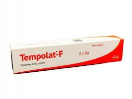 Темполат F Tempolat F, 2*6г, временный фиксирующий безэвгенольный цемент