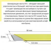 Шинирующая система Dentapreg Bridge PFU, 50*2,0*0,3мм