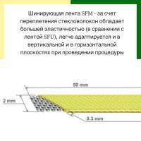 Шинирующая система Dentapreg Splint SFM, 50*2,0*0.2мм