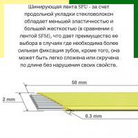 Шинирующая система Dentapreg Splint SFU, 50*2,0*0.2мм