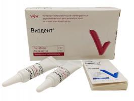 Виэдент Viedent, паста 4г + паста 4г