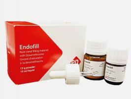 Эндофил Endofil, постоянное пломбирование каналов, набор 15г+15мл