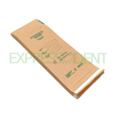 Пакеты для сухожаровой стерилизации крафт 100x250, 100шт.