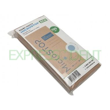 Пакеты для сухожаровой стерилизации крафт 100x200, 100шт.