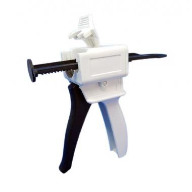 Пистолет диспенсер 1:10, 1:4 для оттискных масс, силиконов, пластмасс и регистрантов прикуса