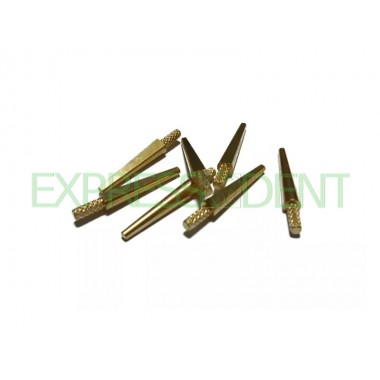 Штифты для моделей латунь Т-BDP-5, 3,2*22мм, 100шт