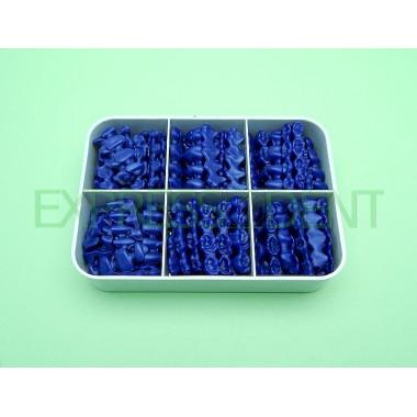 Инзомы для металокерам. Дистридент, синие 468шт