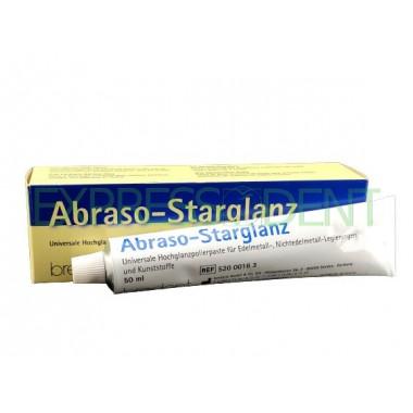 Паста полировочная для пластмассы и металла АбразоСтарГлянц Abraso-Starglanz, 50мл