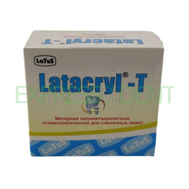 Латакрил-T, для изготовления индивидуальных слепочных ложек, Латус, 200г+100мл