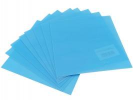 Пластина термопластичная для кап 127мм*127мм, твердая, толщина 0,5мм