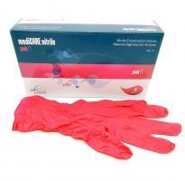 Перчатки mediCare, Нитрил M, пурпурные, 100шт.