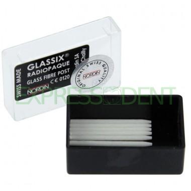 Штифт стекловолоконный Nordin Glassix №1, 6шт-уп