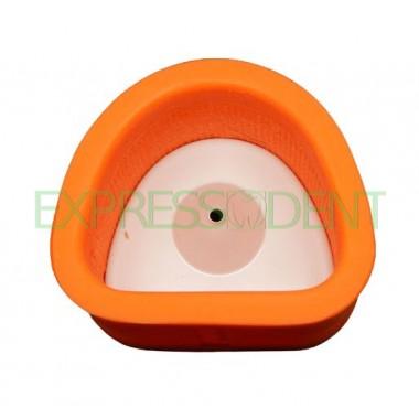 Опока силиконовая Оранжевая №1 подкова 71*58мм