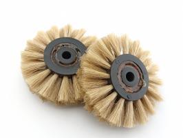 Щетка для шлифмотора зуботехническая с канифолью
