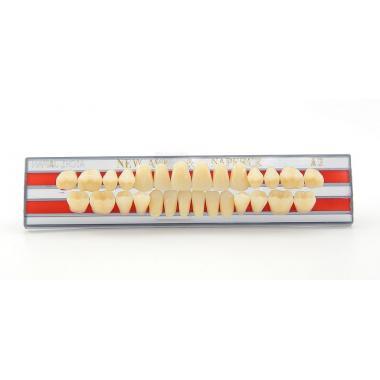 Зубы Yamahachi, фронт.группа, A3, T4 верх, 6шт.