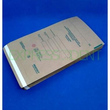 Пакеты для сухожаровой стерилизации крафт 150x250, 100шт.