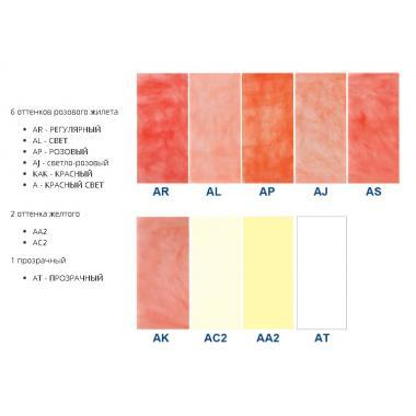 Акрон ACRON, термопласт для протезов, AJ светло-розовый, 250г, ROKO