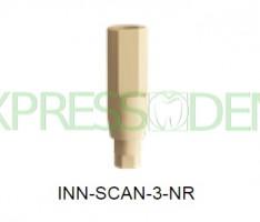 Абатмент сканируемый неротационный INN-Scan-3-NR