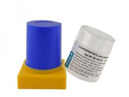 Воск Шуллер Schuler фрезеровочный, синий экстра-твердый, №6003301, 45г