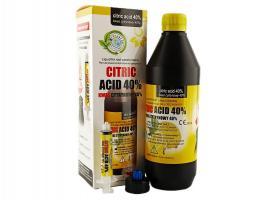 Лимонная кислота Citric Acid, расшир.каналов, Cerkamed, 400мл