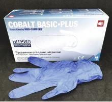 Перчатки Cobalt Basic Plus, Нитрил M, 200шт.