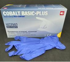 Перчатки Cobalt Basic Plus, Нитрил S, 200шт.