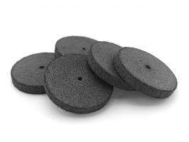 Полир силиконовый NTI P1301G диск черный 3мм